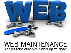 web maintenance image